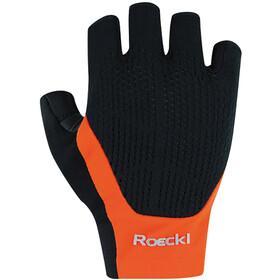Roeckl Icon Gloves, czarny/pomarańczowy